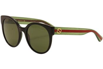 Gucci Women's GG0035S GG/0035/S Fashion Sunglasses  UPC: