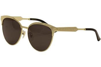 Gucci Women's Clubmaster GG0074S GG/0074/S Fashion Sunglasses