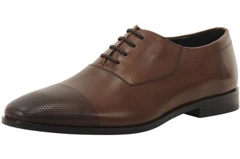 Hugo Boss Men's Square Perforated Toe Oxfords Shoes  UPC: