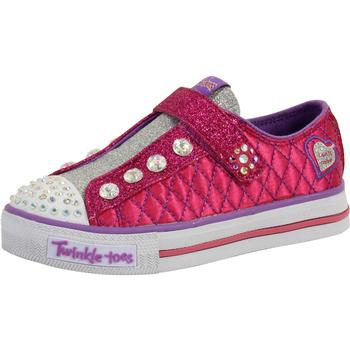 Skechers Little Girl's Sparkly Jewels Limited Edition Light Up Sneakers Shoes  UPC: