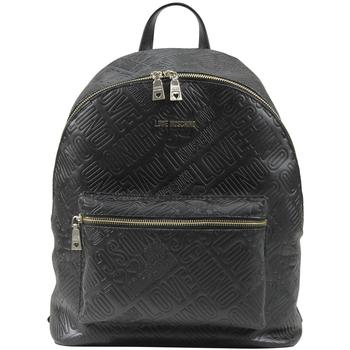 Love Moschino Women's Embossed Logo Backpack Bag