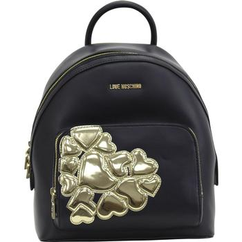 Love Moschino Women's Applied Hearts Backpack Bag