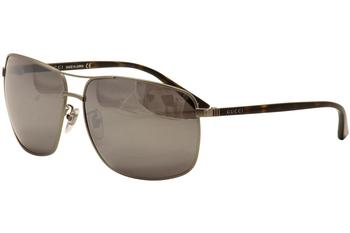 Gucci Men's GG0065SK GG/0065/SK Fashion Sunglasses
