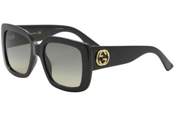 Gucci Women's Urban Collection GG0141S GG/0141/S Square Sunglasses