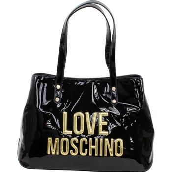 Love Moschino Women's Raised Letter Logo Tote Handbag