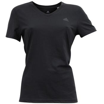 Adidas Women's Ultimate V-Neck Climalite Short Sleeve T-Shirt  UPC: