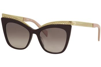 Moschino Women's MOS/009/S MOS/009/S Fashion Cat Eye Sunglasses