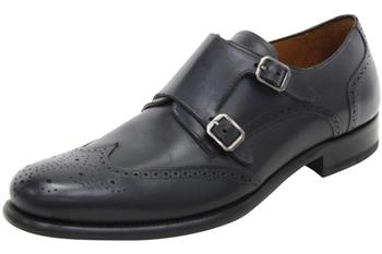 Mezlan Men's Coruna Dressy Double Monk Strap Loafers Shoes