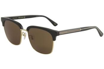 Gucci Men's GG0382S GG/0382/S Fashion Square Sunglasses