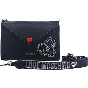Love Moschino Women's Embroidered Heart Crossbody Handbag