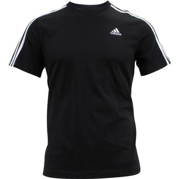 Adidas Men's Essentials 3-Stripe Tee Cotton Short Sleeve T-Shirt  UPC: