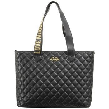 Love Moschino Women's Quilted Heart Logo Tote Handbag