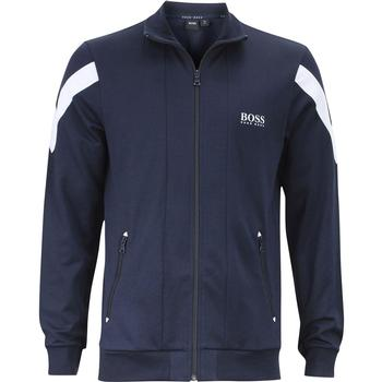 Hugo Boss Men's Zip Up Basic Long Sleeve Track Jacket  UPC: