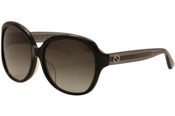 Gucci Women's GG0080SK GG/0080/SK Fashion Sunglasses  UPC: