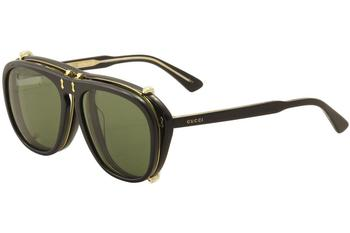 Gucci Men's GG0128S GG/0128/S Fashion Sunglasses