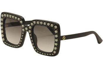 Gucci Women's GG0148S GG/0148/S Fashion Sunglasses