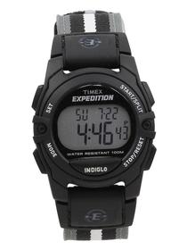 Timex Men's T49661 Expedition Black Chronograph Digital Watch UPC:753048296491
