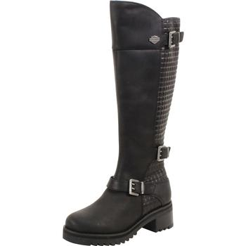 Harley Davidson Women's Kedvale Textured Boots Shoes  UPC: