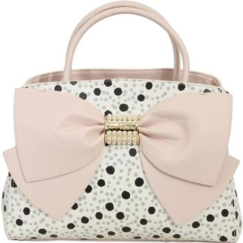 Betsey Johnson Women's Pearl Of A Girl Bow Satchel Handbag  UPC: