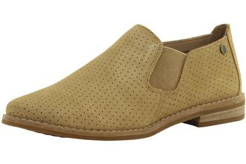 Hush Puppies Women's Analise Clever Perforated Suede Loafers Shoes  UPC: