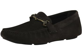 Roberto Cavalli Men's Fashion Shoes Suede Loafers 5122  UPC: