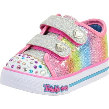 Skechers Toddler/Little Girl's Step Up Sparkle Kicks Light Up Sneakers Shoes  UPC: