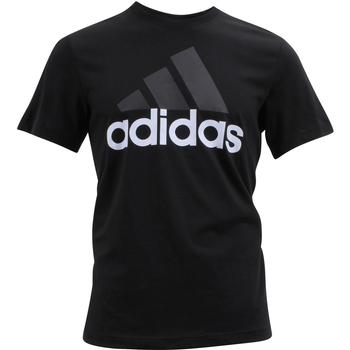 Adidas Men's Essentials Linear Tee Cotton Short Sleeve T-Shirt  UPC: