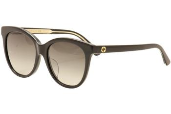 Gucci Women's GG0081SK GG/0081/SK Fashion Sunglasses