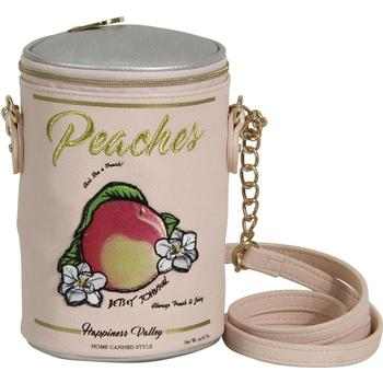 Betsey Johnson Women's Kitsch Ain't She A Peach Insulated Crossbody Handbag  UPC:
