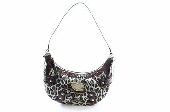 Guess Zambia Handbag Ladies Small Hobo Brown Purse UPC:758193995190