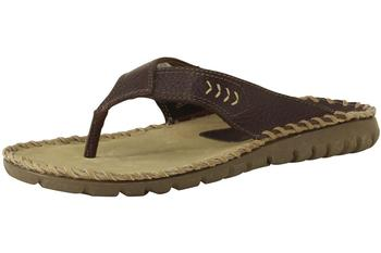 Hush Puppies Men's Shoes H102525 Whip It Toe Post Tan Sandals   UPC: