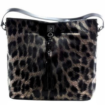 Love Moschino Women's Leopard Tote Handbag