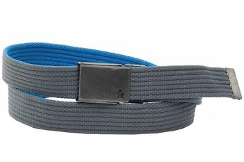 Original Penguin Men's Solid Color Reversible/Adjustable Web Belt  UPC: