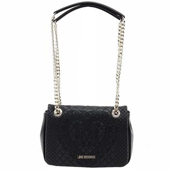 Love Moschino Women's Quilted & Embroidered Flap-Over Satchel Handbag  UPC: