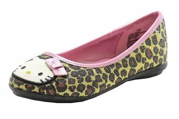 Hello Kitty Girl's Fashion Ballet Flats HK Lilly Shoes FA5361  UPC: