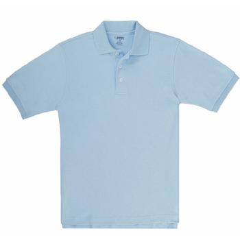 French Toast Boy's Short Sleeve Interlock Uniform Polo Shirt