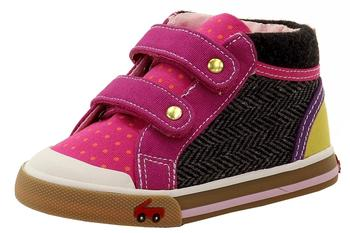 See Kai Run Toddler Girl's Kya Canvas Fashion Sneakers Shoes  UPC: