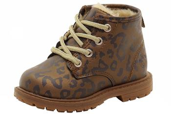 OshKosh B'gosh Toddler/Little Girl's Monica Fur Lined Ankle Boots Shoes  UPC: