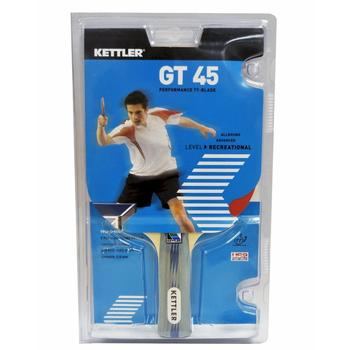 Kettler GT 45 Performance TT-Blade 7205-100 Red/Black Table Tennis Racquet  UPC:609970720514