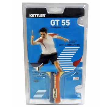 Kettler GT 55 Performance TT-Blade 7206-100 Red/Black Table Tennis Racquet  UPC:609970720613