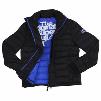 Superdry Men's Fuji Triple Zip Through Quilted Jacket  UPC: