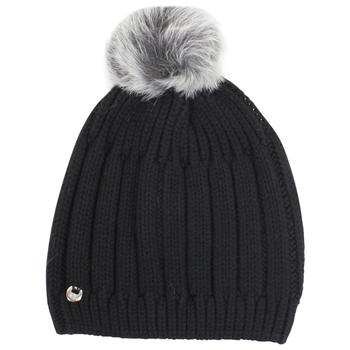 Ugg Women's Solid Ribbed Winter Beanie Hat With Pom (One Size)  UPC:
