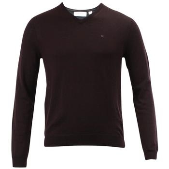 Calvin Klein Men's Merino Moon Long Sleeve V-Neck Sweater  UPC: