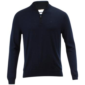 Calvin Klein Men's Merino End On End Long Sleeve 3/4 Zip Sweater  UPC: