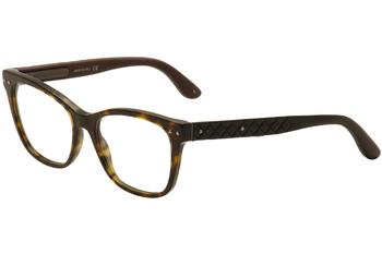 Bottega Veneta Women's Eyeglasses BV 0010O 0010/O Full Rim Optical Frame