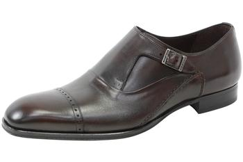 Mezlan Men's Kingston Leather Monk Strap Oxfords Shoes
