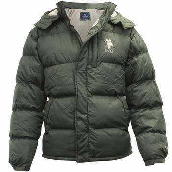 U.S. Polo Association Men's Classic Signature Hooded Bubble Winter Jacket  UPC: