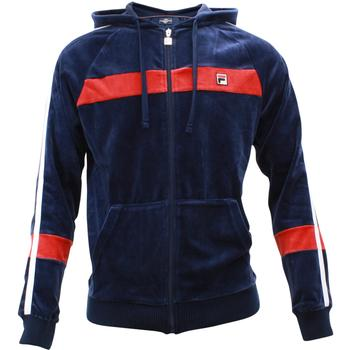 Fila Men's Velour Slim Fit Zip Up Hoody Jacket  UPC: