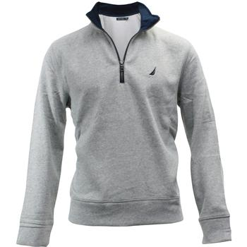 Nautica Men's 1/4 Zip Mock Neck Pull-Over Long Sleeve Sweater  UPC: