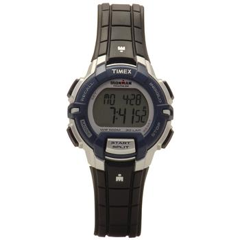 Timex Men's Ironman T5K810CB Black/Blue/Grey Digital Sport Watch  UPC:753048554102